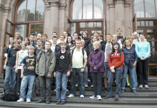 Mathe MINT-Camp in Aachen 2009